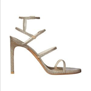 Stuart Weitzman Courtesan Sandal /Made in Spain.